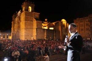 El inicio del fin/Foto tomada de la página oficial de Gabino Cué