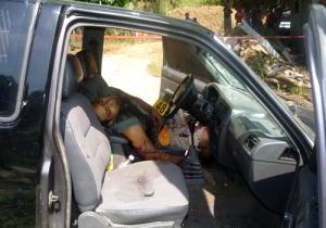 Una persona acribillada. Imagen tomada del sitio web del periódico El Imparcial de Oaxaca.