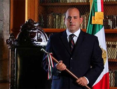 Luis Ugartechea, presidente de la ciudad de Oaxaca de 2010 a 2013 /Foto. Municipio de Oaxaca.